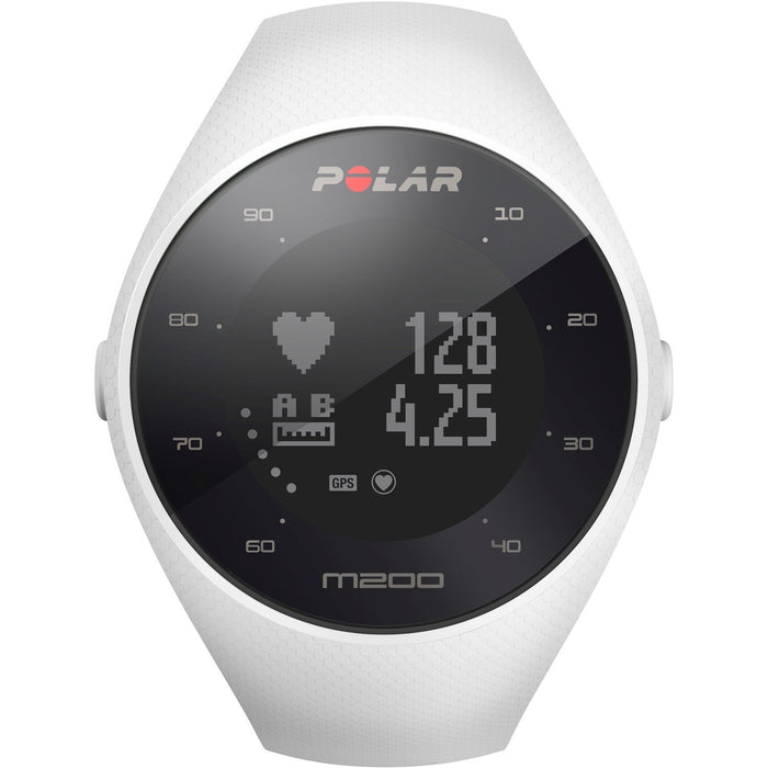 Polar Unisex 90067741 GPS Running White Silicone Watch