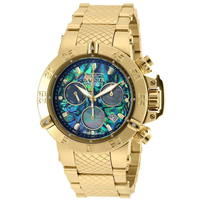 Invicta Men's 90142 Subaqua Noma III Gold-Tone Stainless Steel Watch