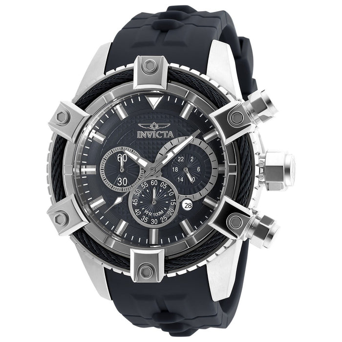 Invicta Men's 90268 Bolt Black Polyurethane Watch