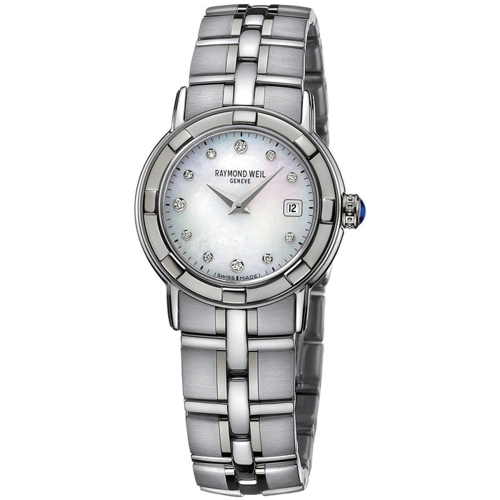 Raymond Weil Women's 9441-ST-97081 Parsifal Diamond Stainless Steel Watch