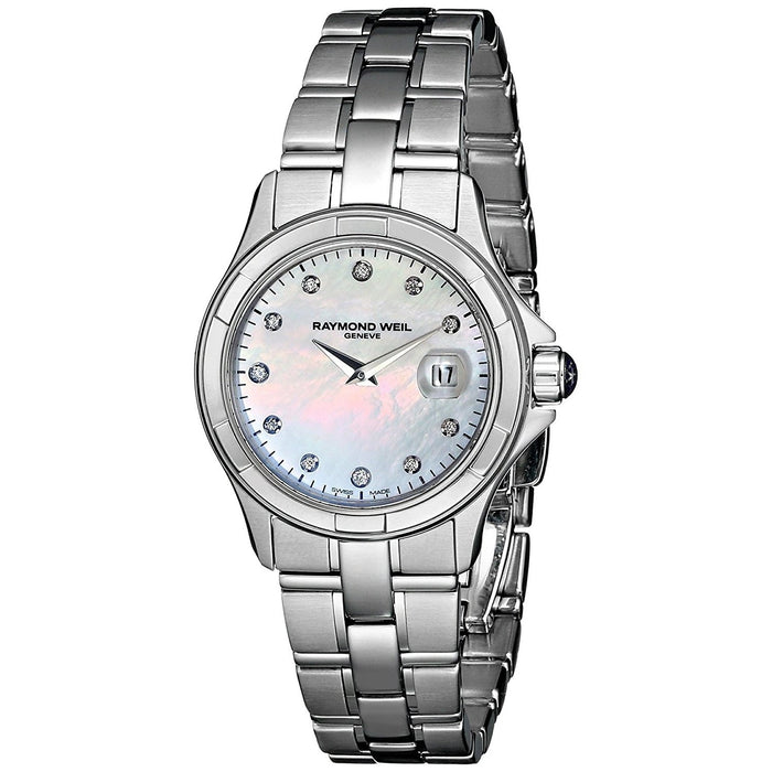 Raymond Weil Women's 9460-ST-97081 Parsifal Diamond Stainless Steel Watch