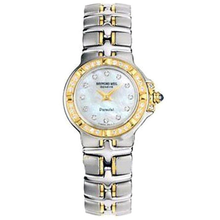 Raymond Weil Women's 9690-STS-97081 Parsifal Diamond Two-Tone Stainless Steel Watch