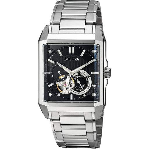 Bulova Men's 96A194 Casual Chronograph Automatic Stainless Steel Watch