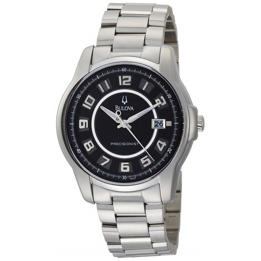 Bulova Men's 96B129 Precisionist Claremont Stainless Steel Watch
