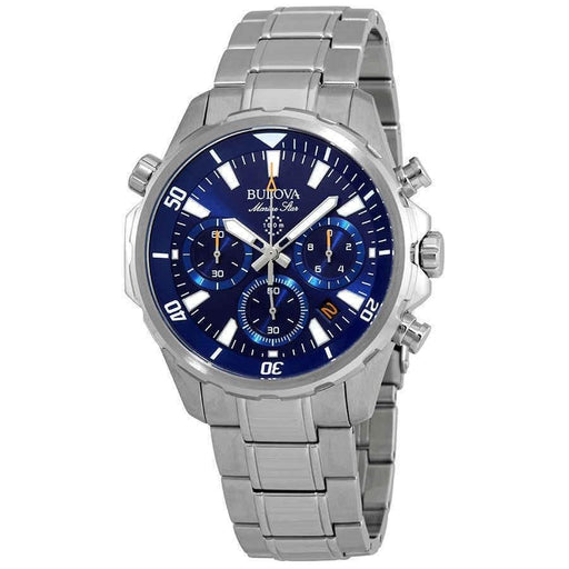 Bulova Men's 96B256 Marine Star Chronograph Stainless Steel Watch