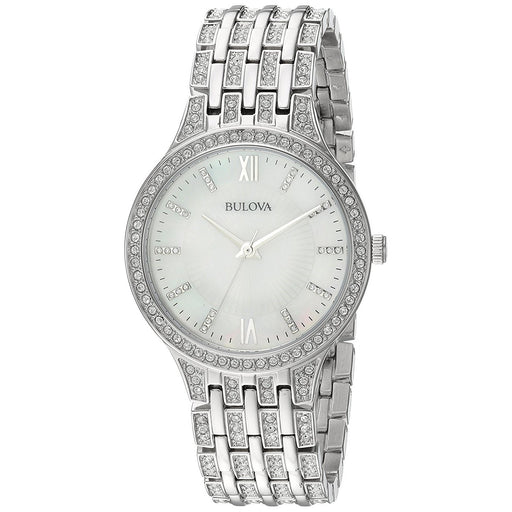 Bulova Women's 96L242 Crystal Crystal Stainless Steel Watch