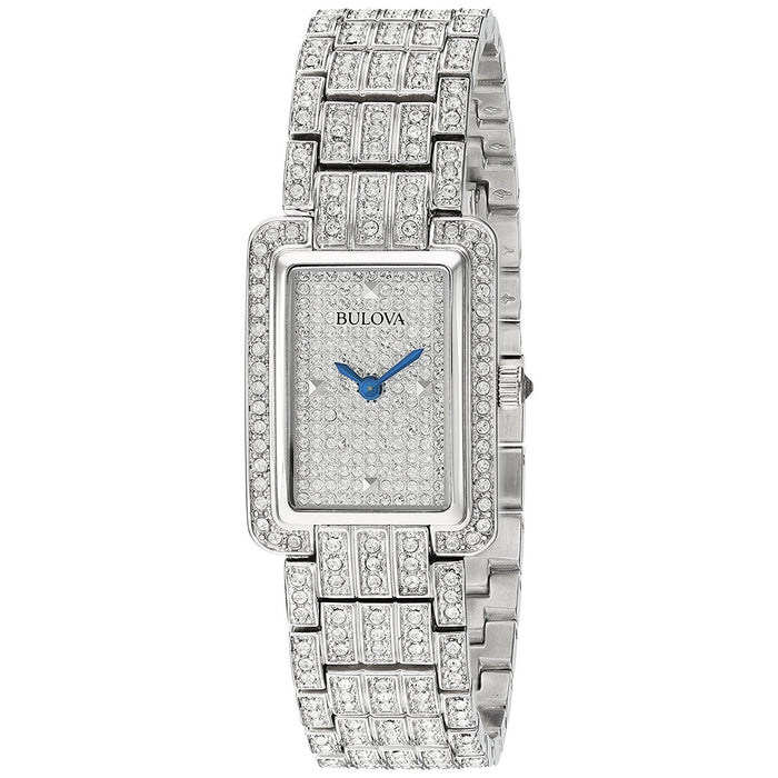 Bulova Women's 96L244 Crystal Crystal Stainless Steel Watch