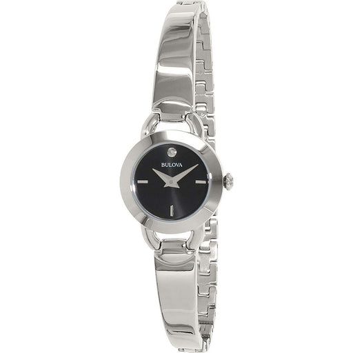 Bulova Women's 96P155 Diamonds Collection Stainless Steel Watch