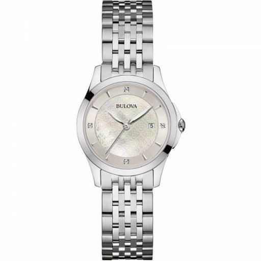 Bulova Women's 96P160 Diamond Crystal Stainless Steel Watch