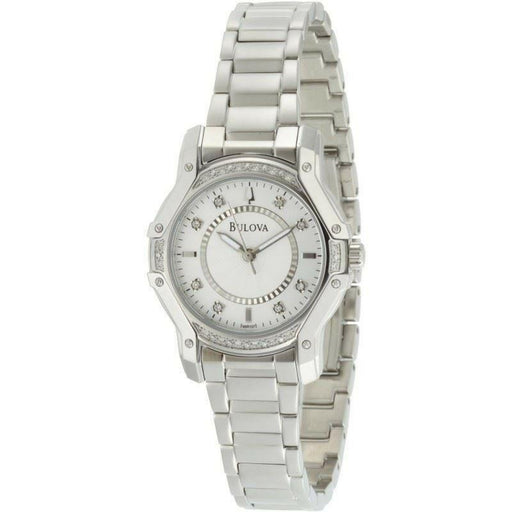 Bulova Women's 96R137 Diamond Stainless Steel Watch