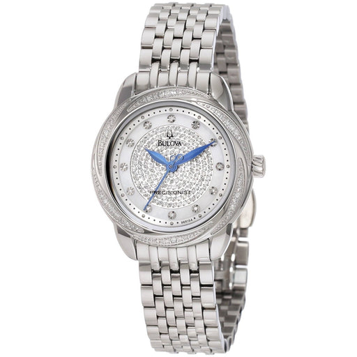 Bulova Women's 96R154 Precisionist Diamond Stainless Steel Watch