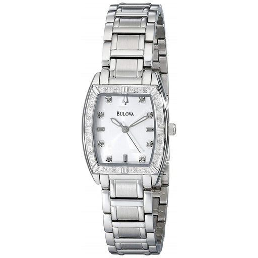 Bulova Women's 96R162 Highbridge Diamond Stainless Steel Watch