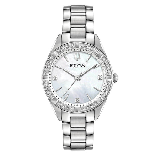 Bulova Women's 96R228 Sutton Stainless Steel Watch