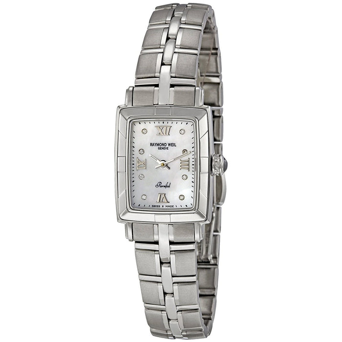Raymond Weil Women's 9741-ST-00995 Parsifal Diamond Stainless Steel Watch