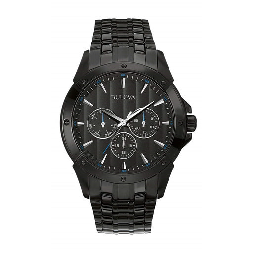 Bulova Men's 98C121 Classic Black Stainless Steel Watch