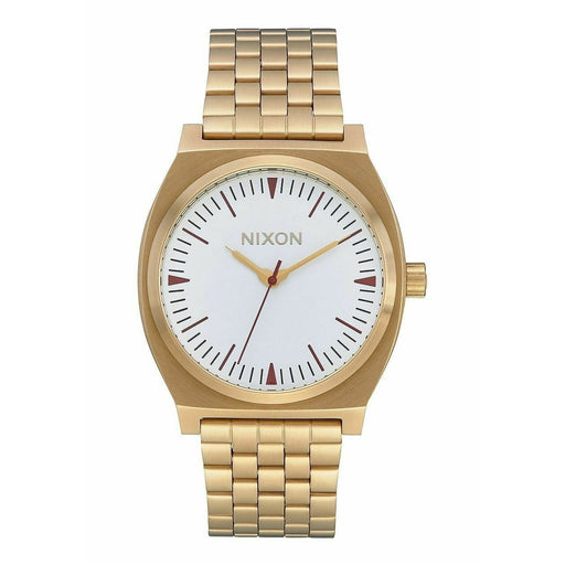 Nixon Unisex A045-3004 Time Teller Gold-Tone Stainless Steel Watch