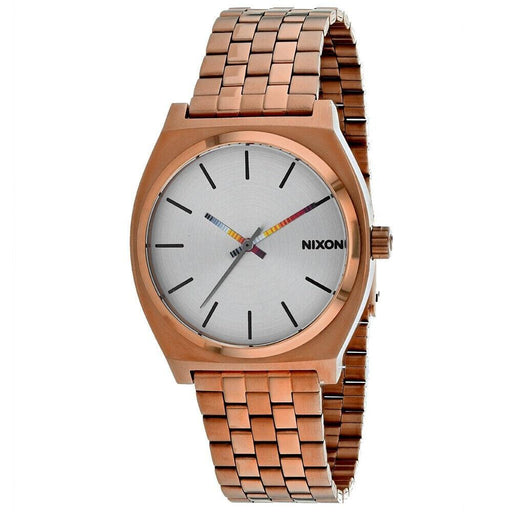 Nixon Men's A045-3174 Time Teller Rose Gold-Tone Stainless Steel Watch