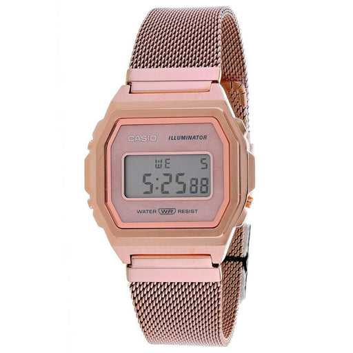 Casio Men's A1000MPG-9VT Vintage Rose Gold-Tone Stainless Steel Watch