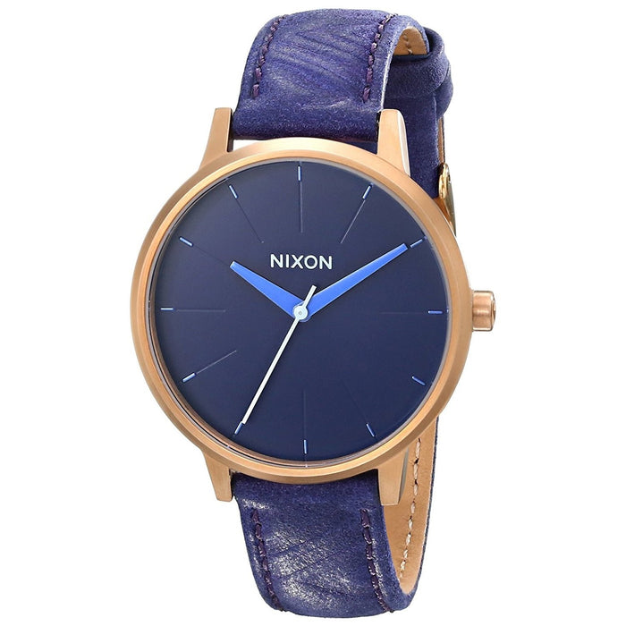 Nixon Women's A108-1674 Kensington Purple Leather Watch