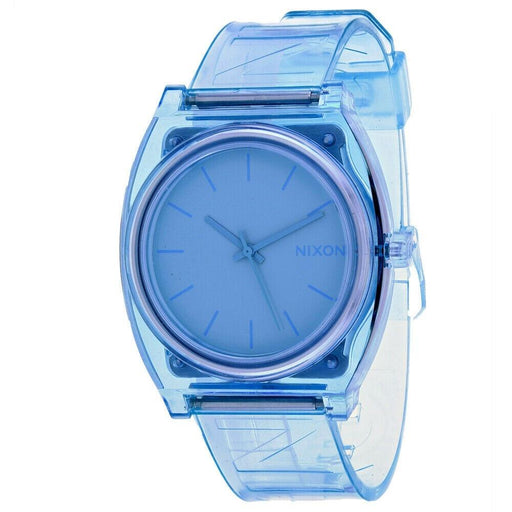 Nixon Women's A119-3143 Time Teller Blue Silicone Watch