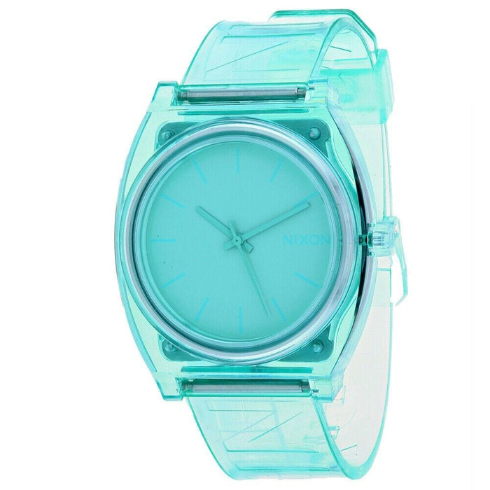 Nixon Women's A119-3145 Time Teller Green Silicone Watch