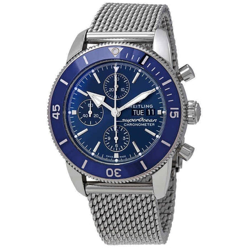 Breitling Men's A1331316-C994-154A Superocean Heritage II Chronograph Stainless Steel Watch