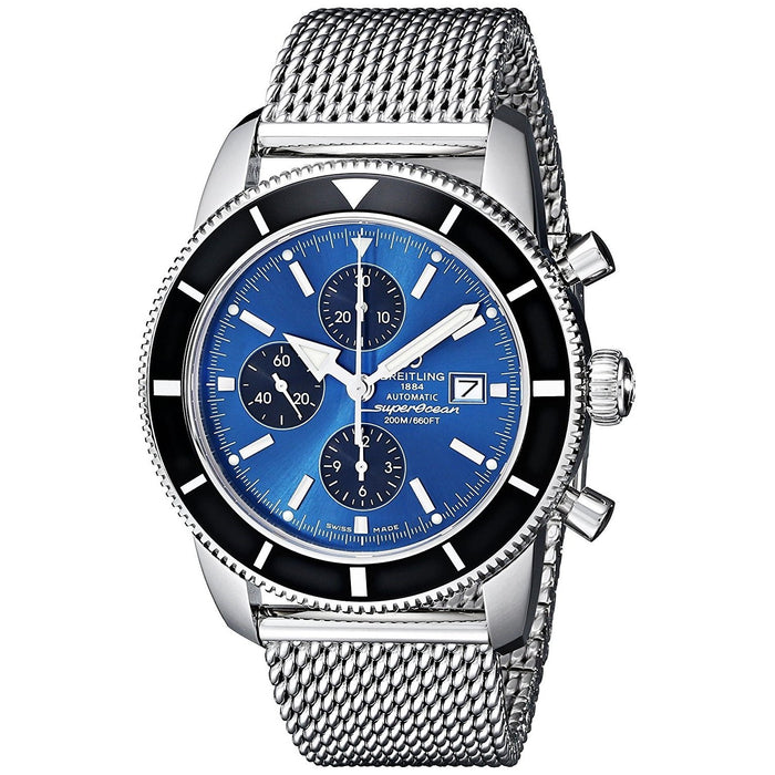 Breitling Men's A1332024-C817 Super Ocean Automatic Chronograph Stainless Steel Watch