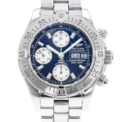 Breitling Men's A1334011-B683-131A  Superocean Chronograph II Chronograph Stainless Steel Watch