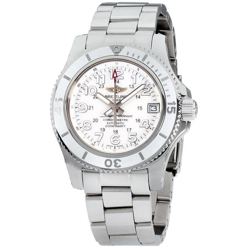 Breitling Women's A17312D2-A775-179A Superocean II Stainless Steel Watch