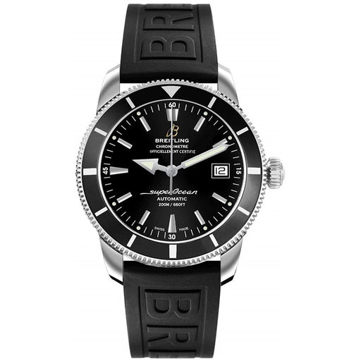 Breitling Men's A1732124-BA61-152S Superocean Heritage 42 Automatic Black Rubber Watch
