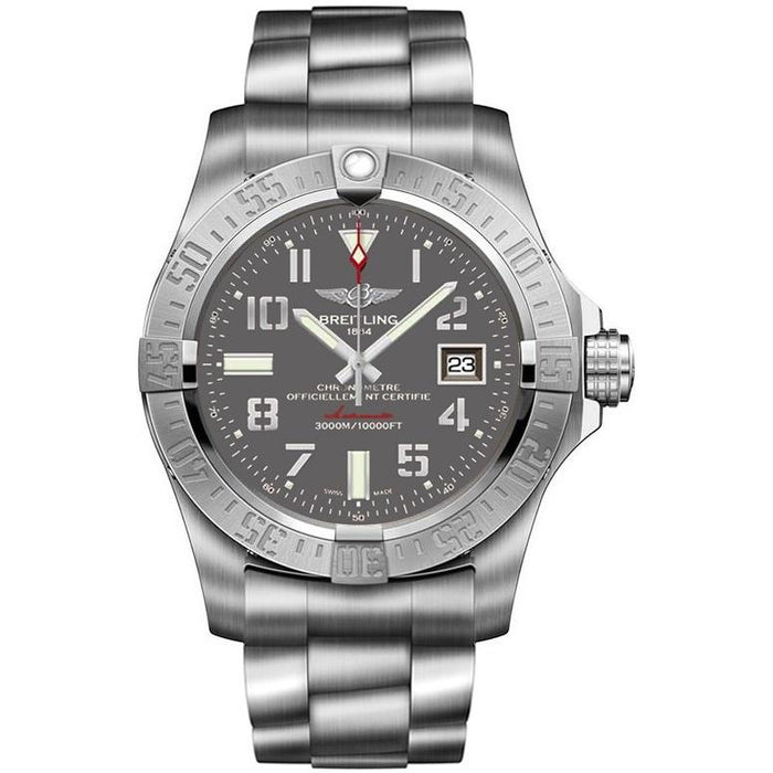 Breitling Men's A1733110-F563-169A Avenger II Seawolf Automatic Stainless Steel Watch