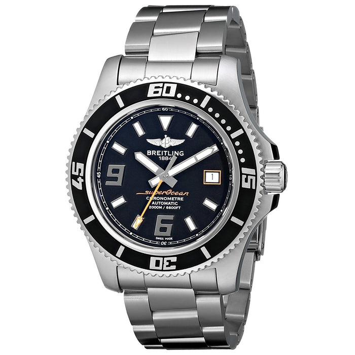 Breitling Men's A1739102-BA80 Superocean 44 Automatic Stainless Steel Watch