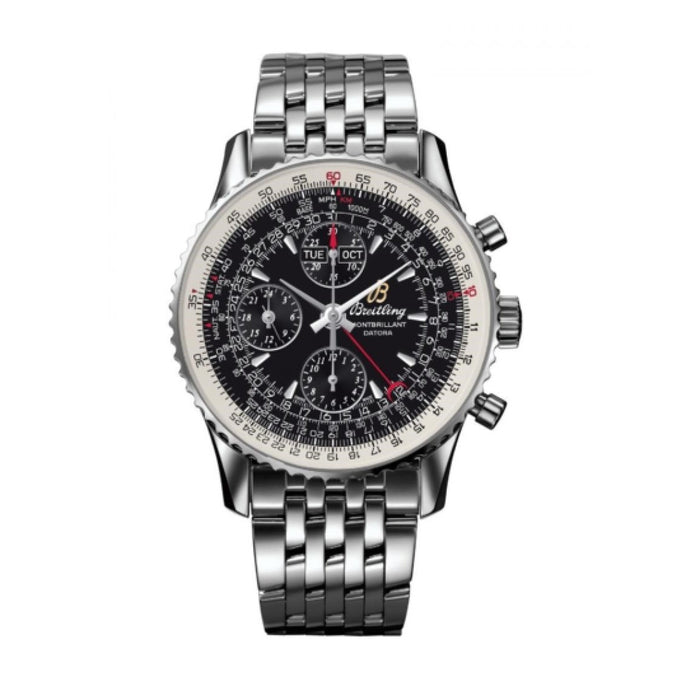 Breitling Men's A2133012-BB58-441A Montbrillant Datora Chronograph Stainless Steel Watch