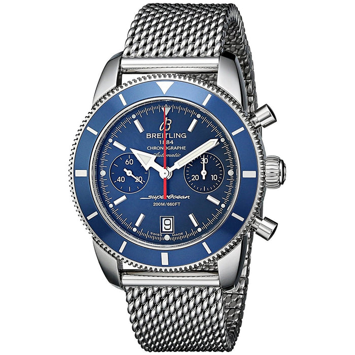 Breitling Men's A2337016-C856 SuperOcean Automatic Chronograph Stainless Steel Watch