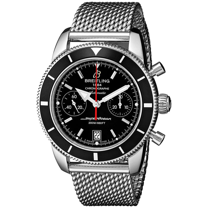 Breitling Men's A2337024-BB81 SuperOcean Automatic Chronograph Stainless Steel Watch