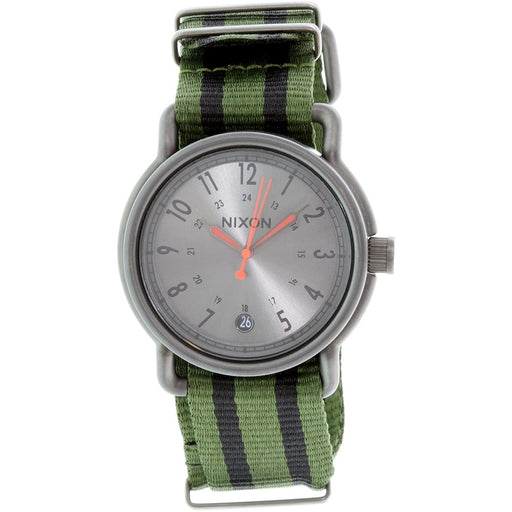 Nixon Unisex A322-1151 Axe Green and Black Nylon Watch