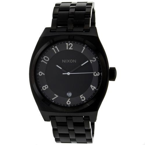 Nixon Unisex A325-001 Monopoly Black Stainless Steel Watch
