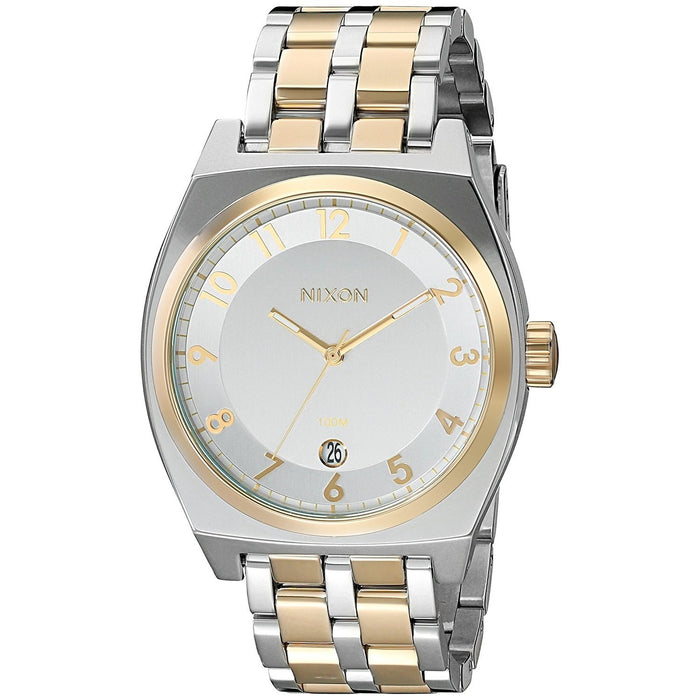 Nixon Women's A325-1431 Monopoly Two-Tone Stainless Steel Watch