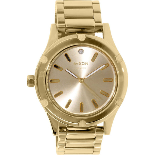 Nixon Women's A343-502 Camden Gold-Tone Stainless Steel Watch