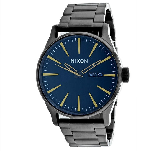 Nixon Men's A356-2983 Sentry SS Grey Stainless Steel Watch