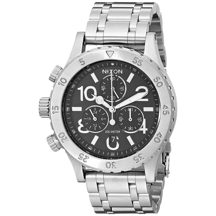 Nixon Women's A404-000 38-20 Chronograph Stainless Steel Watch