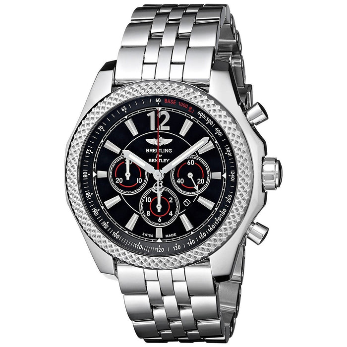 Breitling Men's A4139024-BB82 Bentley Bar42 Automatic Chronograph Stainless Steel Watch