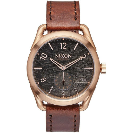 Nixon Men's A459-1890 C39 Brown Leather Watch
