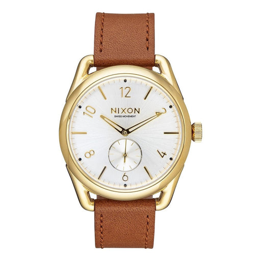 Nixon Men's A459-2227 C39 Brown Leather Watch
