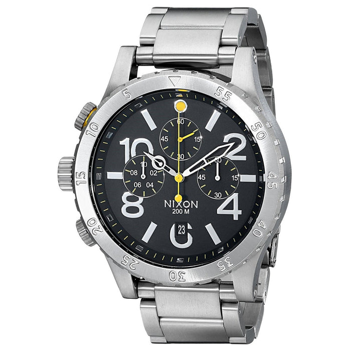 Nixon Men's A486-000 48-20 Chronograph Stainless Steel Watch