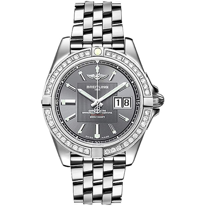 Breitling Men's A49350LA-F549-366A Galactic 41 Stainless Steel Watch