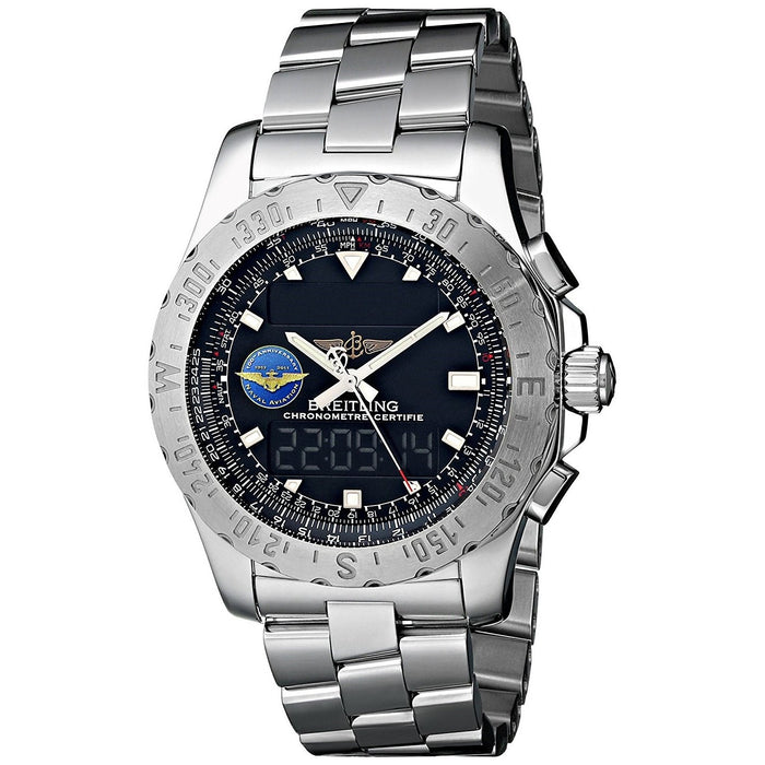 Breitling Men's A7836323-BA86 Professional Airwolf Analog-Digital Stainless Steel Watch