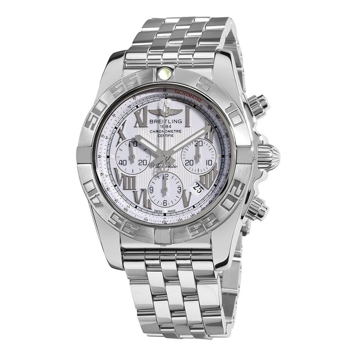 Breitling Men's AB011011-A690 Chronomat 44 Chronograph Automatic Stainless Steel Watch