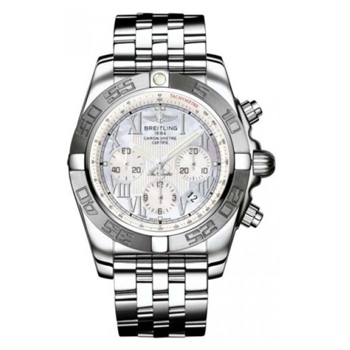 Breitling Men's AB011011-A691 Chronomat 44 Chronograph Automatic Stainless Steel Watch