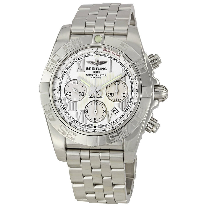 Breitling Men's AB011012-G676 Chronomat 44 Chronograph Automatic Stainless Steel Watch
